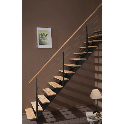 escalier quart tournant escatwin leroy merlin. Black Bedroom Furniture Sets. Home Design Ideas