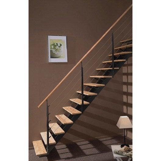 Escalier quart tournant escatwin leroy merlin - Escalier demi tournant leroy merlin ...