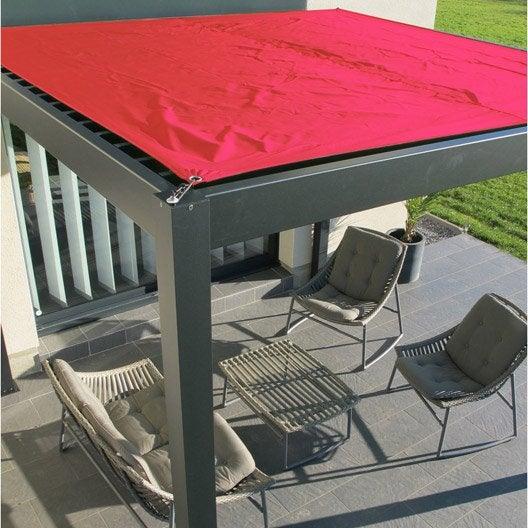 Tonnelle pergola toiture de terrasse leroy merlin - Pergola murale aluminium ...