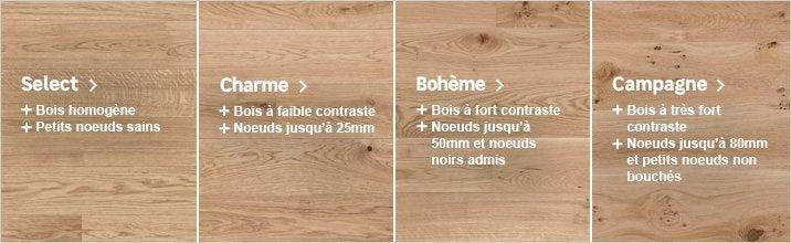 Parquet - qualité du bois