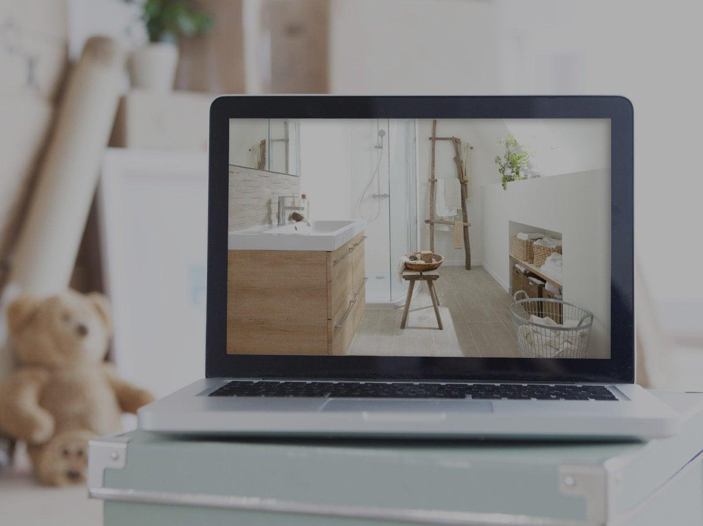 Les produits les conseils et les id es pour le bricolage - Ma salle de bain en 3d ...