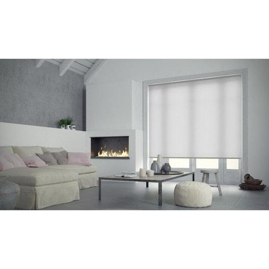 Store enrouleur tamisant INSPIRE, blanc blanc n°0, 60x90 cm | Leroy ...