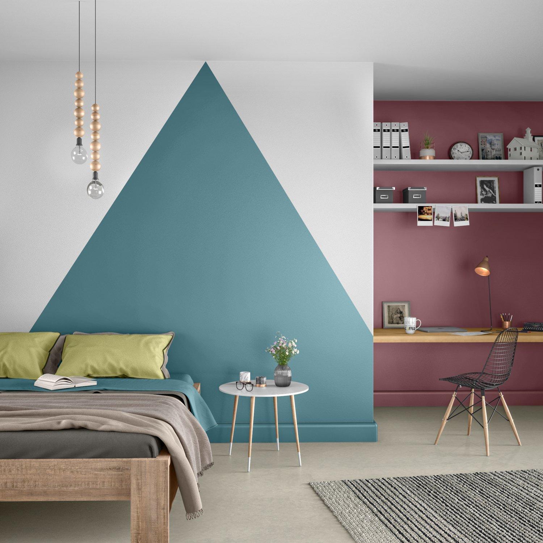 Deco Chambre Jaune Et Gris le mur reprend des couleurs dans la chambre | leroy merlin
