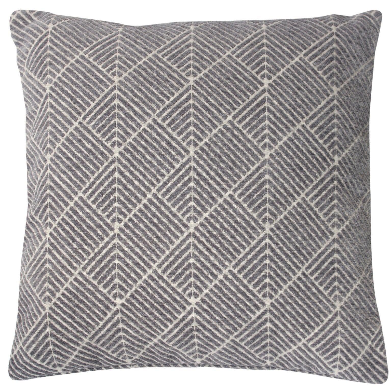 Coussin, gris l.40 x H.40 cm