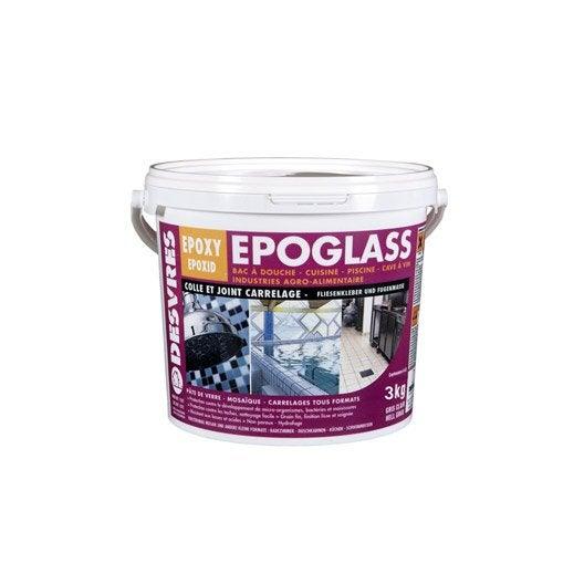 Colle et joint epoxy epoglass pour carrelage et mosa que desvres ivoire 3k - Colle epoxy pour carrelage piscine ...