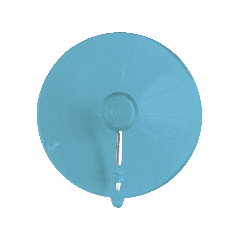 Crochet à ventouser, bleu atoll 4, Play