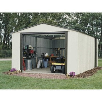 Garage en métal VT1217, 18 m²