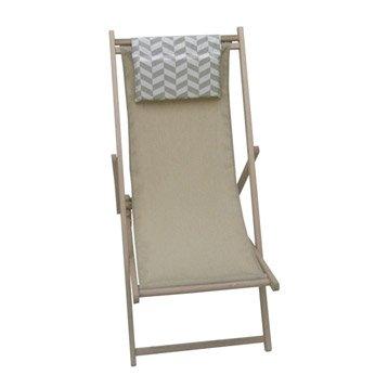 Bain de soleil transat hamac chaise longue leroy merlin - Chilienne leroy merlin ...