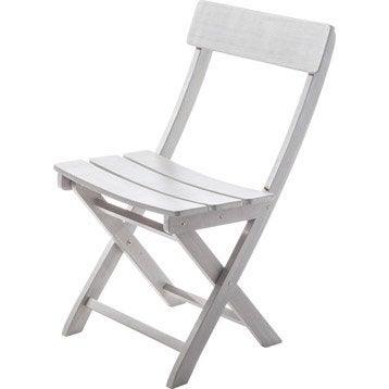 Chaise de jardin en bois Portofino gris