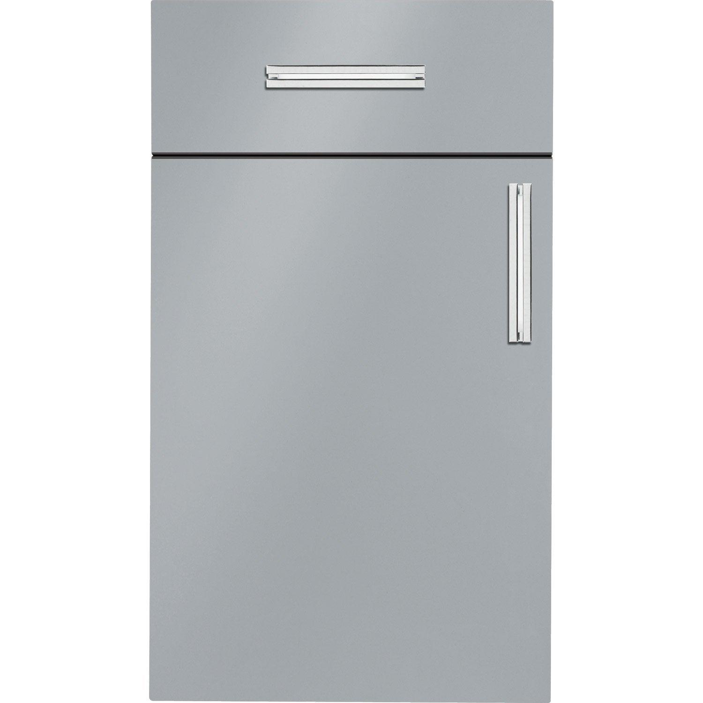 meuble de cuisine gris delinia d233lice leroy merlin