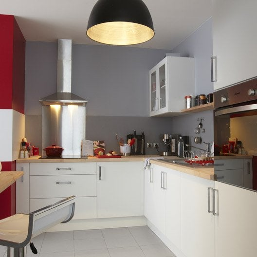 meuble de cuisine delinia modulable moderne bois design ilot centrale leroy merlin. Black Bedroom Furniture Sets. Home Design Ideas