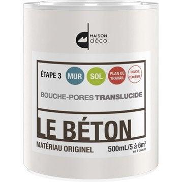 Peinture à effet, Le béton MAISON DECO, incolore, 0.5 l