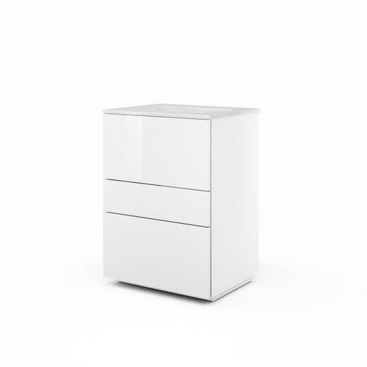 Meuble Vasque Blanc Neo Line Leroy Merlin