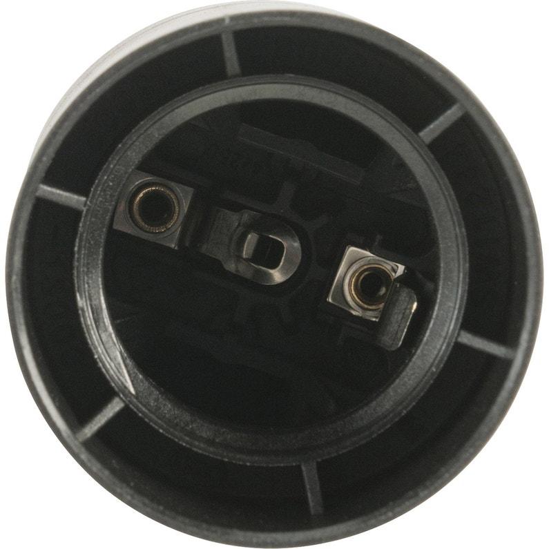 Douille électrique E27 à Vis Thermoplastique Noir