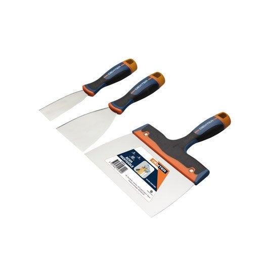 accessoires pour enduit bande de raccord bande fissures raclette au meilleur prix leroy. Black Bedroom Furniture Sets. Home Design Ideas