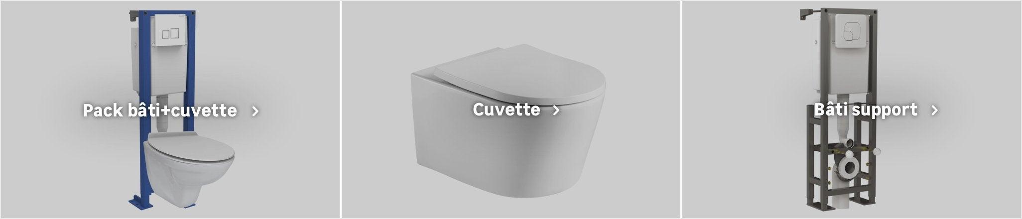 Cuvette De Wc Suspendu Geberit pack wc suspendu geberit au meilleur prix | leroy merlin