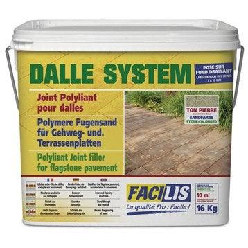 Accessoire de pose terrasse entretien sol ext rieur - Joint polymere pour pave ...