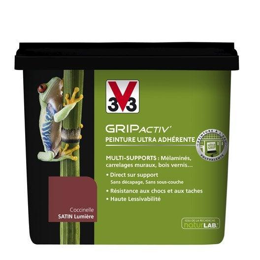 Peinture multi supports v33 gripactiv 39 coccinelle - Peinture carrelage v33 ...