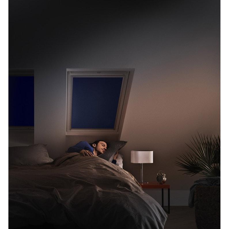 Store fenêtre de toit occultant bleu VELUX Dkl mk04   Leroy Merlin