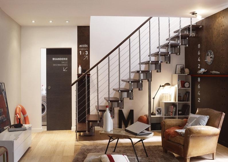 Un escalier au style loft