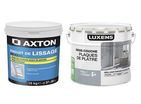 Formation peinture d couvrir leroy merlin - Preparation enduit de lissage ...