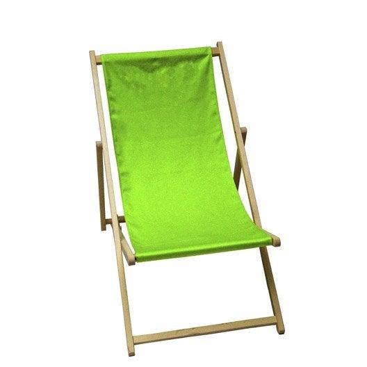 chilienne pour enfants en tissu vert granny leroy merlin. Black Bedroom Furniture Sets. Home Design Ideas