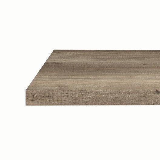 plan de travail stratifi bois inox au meilleur prix leroy merlin. Black Bedroom Furniture Sets. Home Design Ideas