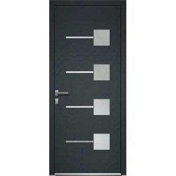 porte d 39 entr e porte d 39 entr e sur mesure leroy merlin. Black Bedroom Furniture Sets. Home Design Ideas