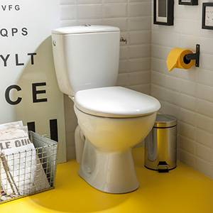 WC au lave WCabattant à et Toilette mains poser XPZuOik