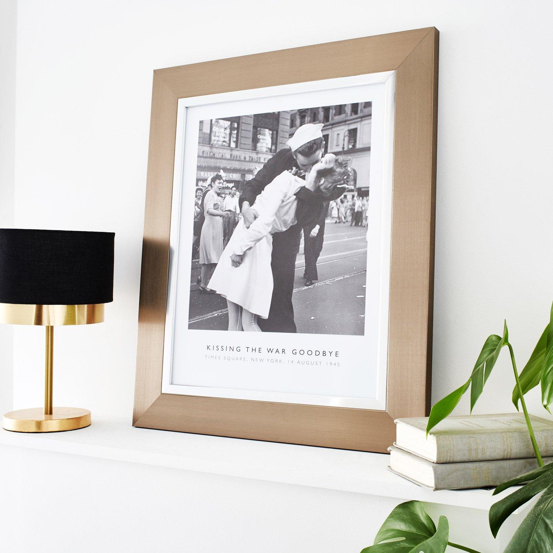 cadre pianura 30 x 40 cm argent leroy merlin. Black Bedroom Furniture Sets. Home Design Ideas