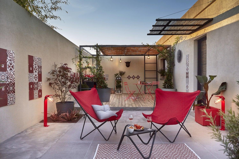 Décorer Un Mur De Jardin des idées pour décorer la cour ou le patio | leroy merlin