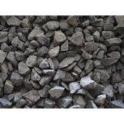 Graviers basalte en pierre naturelle, noir, 6/14 mm, 25 kg