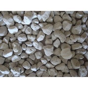 Pierre ponce pierre naturelle blanc Roche volcanique 10/20mm, 30 l