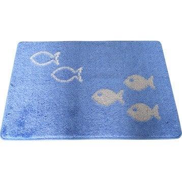 Tapis de bains et caillebotis accessoires de salle de - Tapis salle de bain leroy merlin ...