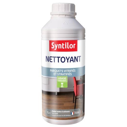 Produit Pour Parquet Flottant en ce qui concerne nettoyant parquet stratifié et vitrifié syntilor, 1 l | leroy merlin