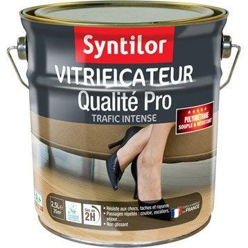 vitrificateur parquet ultra r sistant syntilor incolore m t 2 5l. Black Bedroom Furniture Sets. Home Design Ideas