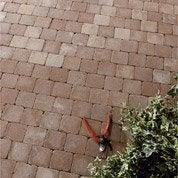 Pavé Mosa Béton rouge nuancé 10x10cm, ép.40mm