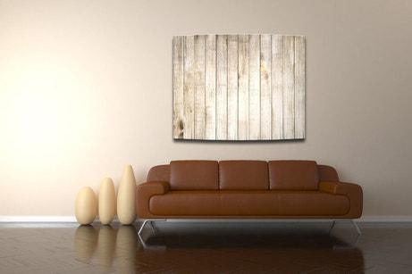 Un radiateur électrique à l'effet bois pour chauffer et décorer votre salon