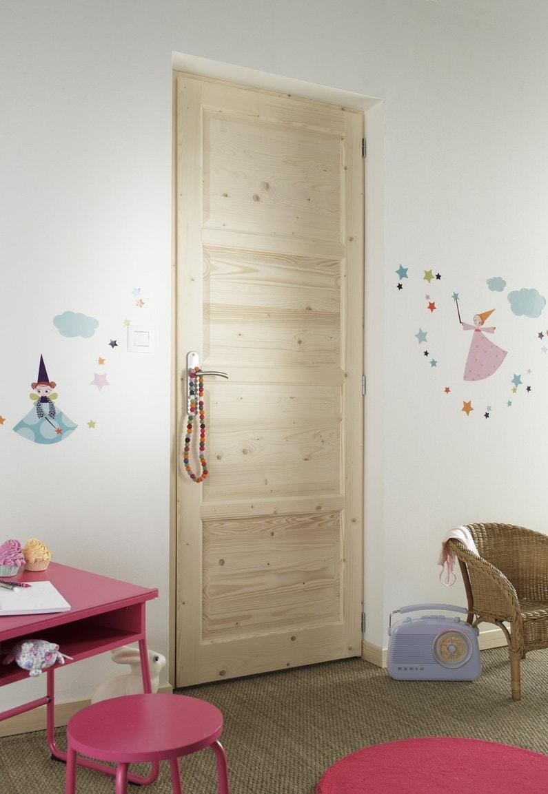 Une porte en bois pour la chambre des enfants for Porte pour chambre en bois