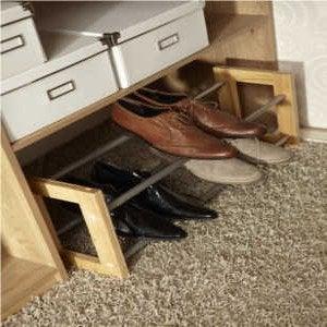 Tout savoir sur les accessoires de dressing leroy merlin - Range chaussures a suspendre ...