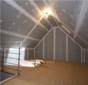 cloison hydrofuge salle de bain finest isolation mur laine de verre laine de roche isover knauf. Black Bedroom Furniture Sets. Home Design Ideas