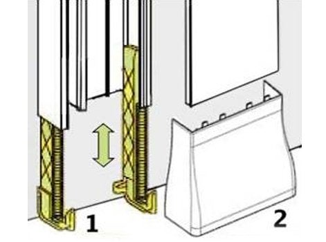 la gaine technique de logement gtl leroy merlin. Black Bedroom Furniture Sets. Home Design Ideas