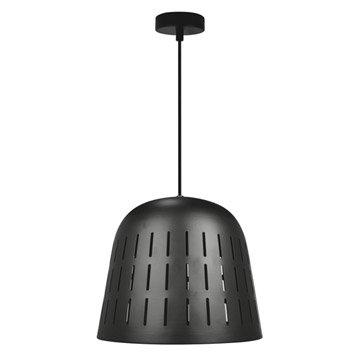 Suspension Design Solal métal noir 1 x 60 W INSPIRE