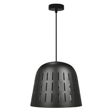 Suspension, e27 design Solal métal noir 1 x 60 W INSPIRE
