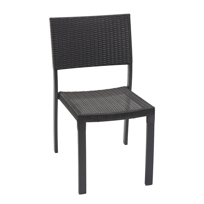 Chaise jardin gris anthracite chaise en fer de couleur | Askelldrone