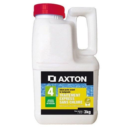 Oxyg ne actif piscine axton granul 3 l 3 kg leroy merlin for Oxygene actif piscine
