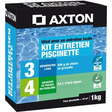 Traitement piscine chlore brome oxyg ne actif ph for Kit entretien piscine