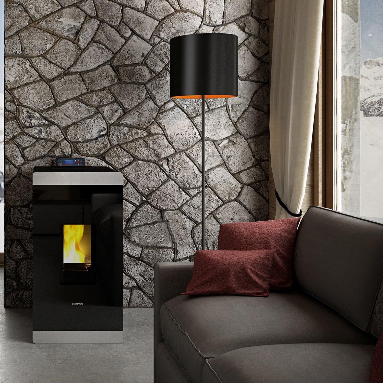 po le granul s freepoint glass air 8 5 kw leroy merlin. Black Bedroom Furniture Sets. Home Design Ideas