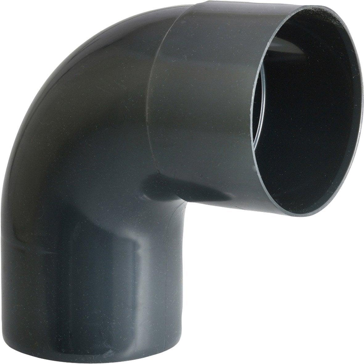 Comment Coller De L Ardoise coude 87.3° à coller pvc ardoise girpi, dév.16 cm diam.50 mm
