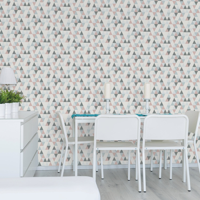 papier peint intiss hej rose leroy merlin. Black Bedroom Furniture Sets. Home Design Ideas